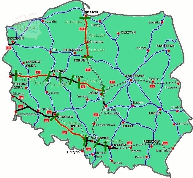 Польские платные дороги