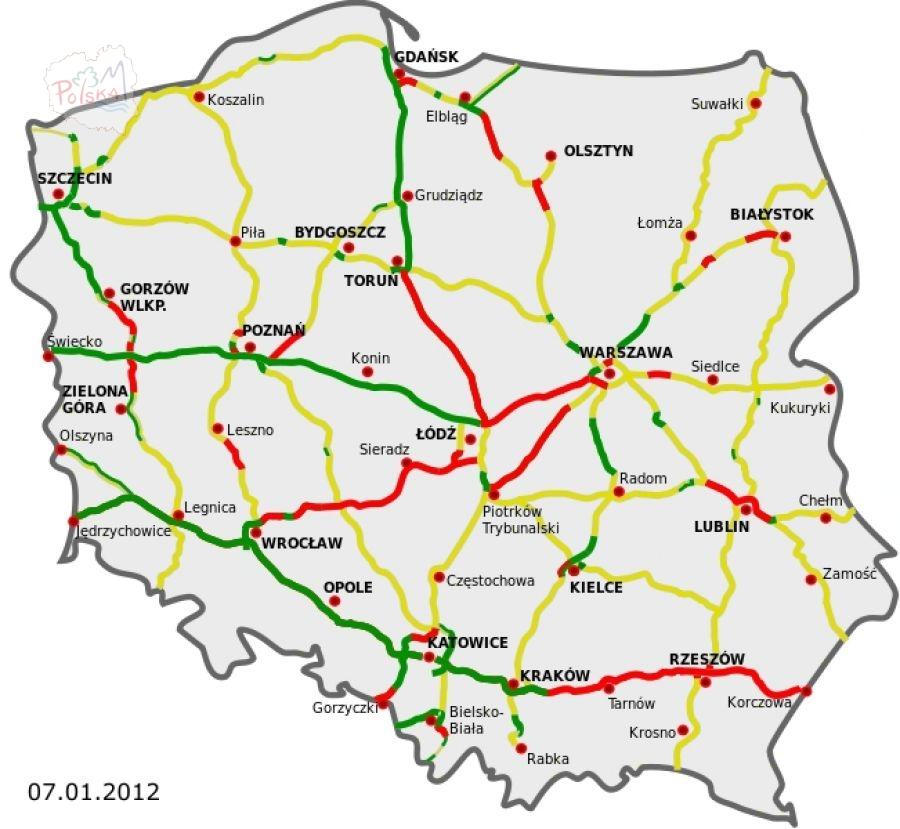 Польские автострады